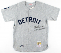 "Al Kaline Signed Tigers Jersey Inscribed ""68 WS Champs"" (JSA COA) at PristineAuction.com"
