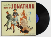 "Jonathan Winters Signed ""Here's Jonathan"" Vinyl Record Album (JSA COA) at PristineAuction.com"