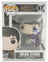 "Isaac Hempstead Wright Signed ""Game of Thrones"" Bran Stark #67 Funko Pop! Vinyl Figure (PSA COA) at PristineAuction.com"