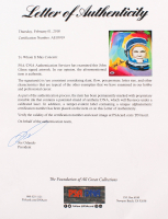 John Glenn Signed 11.5x14.5 Custom Framed Embellished Photo Display (PSA LOA) at PristineAuction.com