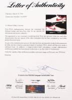 Pair of (2) Michael Jordan & Jerry Rice Signed Nike Air Shark Turf Shoes (PSA LOA) at PristineAuction.com