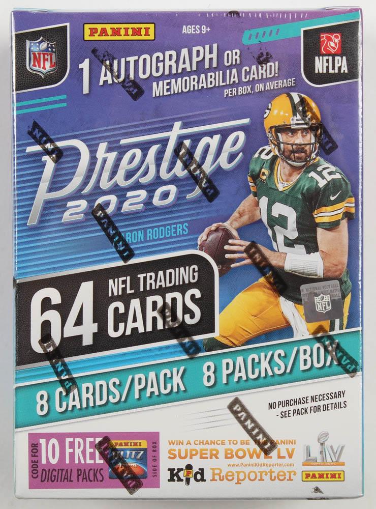 2020 Panini Prestige Football Blaster Box with (8) Packs at PristineAuction.com