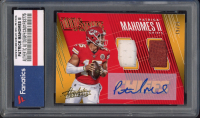 Patrick Mahomes II 2018 Absolute Tools of the Trade Dual Material Autographs #32 (Fanatics Encapsulated) at PristineAuction.com