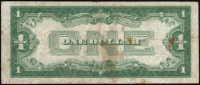 1928-A U.S. $1 One Dollar Blue Seal Silver Certificate Note at PristineAuction.com