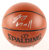 Lonzo Ball Signed NBA Basketball (Beckett COA) at PristineAuction.com
