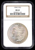 1904-O Morgan Silver Dollar (NGC MS63) at PristineAuction.com