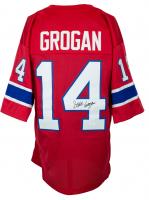 Steve Grogan Signed Jersey (JSA COA) at PristineAuction.com