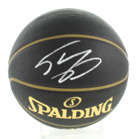 Shaquille O'Neal Signed Black NBA Basketball (Schwartz Sports COA) at PristineAuction.com