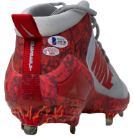 """Mike Trout Signed Game-Used 2018 Pair of (2) Nike Cleats Inscribed """"18 GU"""" (Anderson Authentics LOA & Beckett LOA) at PristineAuction.com"""