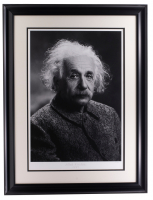 Albert Einstein 22x27 Custom Framed Limited Edition Giclee at PristineAuction.com