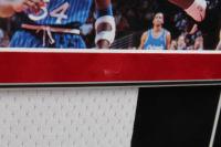 Michael Jordan Signed 34x40 Custom Framed Jersey Display (PSA LOA & UDA Hologram) at PristineAuction.com
