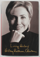 "Hillary Clinton Signed ""Living Choices"" Hardcover Book (PSA LOA) at PristineAuction.com"