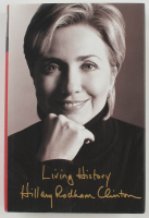 """Hillary Clinton Signed """"Living Choices"""" Hardcover Book (PSA LOA) at PristineAuction.com"""