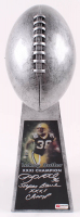 "LeRoy Butler Signed 15"" Football Championship Trophy Inscribed ""Super Bowl XXXI Champ"" (PA COA) at PristineAuction.com"