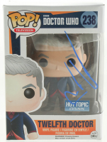 "Peter Capaldi Signed ""Doctor Who"" #238 Twelfth Doctor Funko Pop! Vinyl Figure (PSA Hologram) at PristineAuction.com"