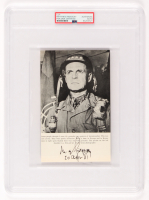 Matthew Ridgway Signed 5x8 Photo (PSA Encapsulated) at PristineAuction.com