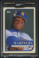 Ken Griffey Jr. Topps Project 2020 #127 by Oldmanalan (Project 2020 Encapsulated) at PristineAuction.com