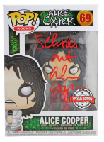 "Alice Cooper Signed ""Alice Cooper"" #69 Funko Pop! Vinyl Figure Inscribed ""School's Out"" (Beckett COA) at PristineAuction.com"