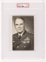 "Maxwell D. Taylor Signed 5x8 Photo Inscribed ""16 Oct, 1981"" (PSA Encapsulated) at PristineAuction.com"