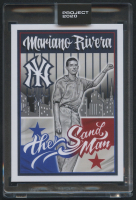 Mariano Rivera Topps Project 2020 #131 by Mister Cartoon (Project 2020 Encapsulated) at PristineAuction.com