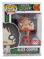 "Alice Cooper Signed ""Alice Cooper"" #69 Funko Pop! Vinyl Figure (Beckett COA) at PristineAuction.com"
