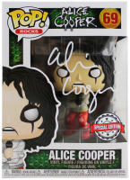 "Alice Cooper Signed ""Alice Cooper"" #69 Funko Pop! Vinyl Figure (Beckett COA) at PristineAuction.com"