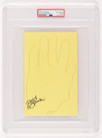 Floyd Norman Signed 5.5x8.5 Hand-Tracing (PSA Encapsulated) at PristineAuction.com