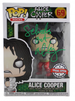 "Alice Cooper Signed ""Alice Cooper"" #69 Funko Pop! Vinyl Figure Inscribed ""School's Out"" (Beckett COA) at PristineAuction.com"