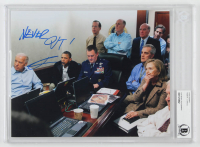 "Robert O'Neill Signed ""Briefing Room"" 8x10 Photo Inscribed ""Never Quit!"" (BGS Encapsulated) at PristineAuction.com"