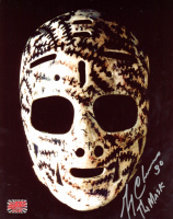 """Gerry Cheevers Signed 8x10 Photo Inscribed """"The Mask"""" (YSMS COA) at PristineAuction.com"""