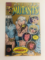 "Stan Lee Signed 1990 ""The New Mutants"" Issue #87 2nd Print Marvel Comic Book (Lee COA) at PristineAuction.com"