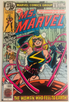 "Stan Lee Signed 1979 ""Ms. Marvel"" Issue #23 Marvel Comic Book (Lee COA) at PristineAuction.com"
