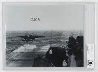 Richard E. Cole Signed 8x10 Photo (BGS Encapsulated) at PristineAuction.com