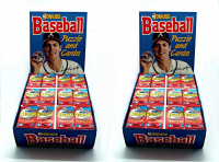 1988 DONRUSS BASEBALL COUNTER DISPLAY CASE – 432 PACKS – 6,480 CARDS!! at PristineAuction.com