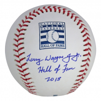 "Chipper Jones Signed HOF OML Baseball Inscribed ""Hall of Fame 18"" (Beckett COA) at PristineAuction.com"