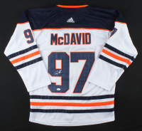 Connor McDavid Signed Oilers Captain Jersey (JSA LOA) at PristineAuction.com