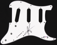 Justin Furstenfeld Signed Electric Guitar Pickguard (PSA Hologram) at PristineAuction.com