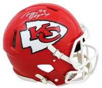 Tony Gonzalez Signed Chiefs Full-Size Speed Authentic On-Field Helmet (Beckett COA) at PristineAuction.com