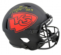 """Tony Gonzalez Signed Chiefs Full-Size Authentic On-Field Eclipse Alternate Speed Helmet Inscribed """"HOF 19"""" (Beckett COA) at PristineAuction.com"""
