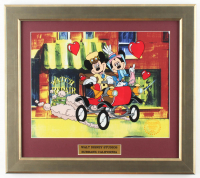 "Walt Disney's LE ""Mickey & Minnie"" 15.5x17.5 Custom Framed Animation Serigraph Display at PristineAuction.com"