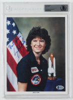 "Sally Ride Signed 8x10 Photo Inscribed ""Best Wishes!"" (BGS Encapsulated) at PristineAuction.com"