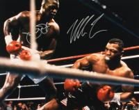 "Mike Tyson & James ""Buster"" Douglas Signed 16x20 Photo (Schwartz Hologram) at PristineAuction.com"