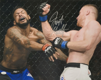 Justin Gaethje Signed UFC 16x20 Photo (JSA COA) at PristineAuction.com