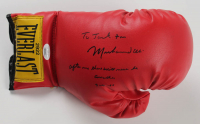 """Muhammad Ali Dual Signed Pair of Everlast Boxing Gloves with Multiple Inscriptions including """"Float like a butterfly, sting like a bee, I'll always be the greatest just wait and see"""" (JSA LOA) at PristineAuction.com"""