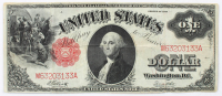 1917 $1 One-Dollar Red Seal U.S. Legal Tender Large-Size Bank Note at PristineAuction.com