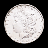 1886 Morgan Silver Dollar at PristineAuction.com