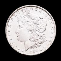 1886 Morgan Silver Dollar at PristineAuction.com