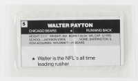 Walter Payton 1987 Wheaties Mini Posters #5 at PristineAuction.com