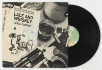 "Alice Cooper Signed ""Lace and Whiskey"" Vinyl Record Album (JSA COA) at PristineAuction.com"