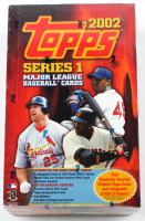 2002 Topps Series 1 Baseball Hobby Box with (36) Packs at PristineAuction.com